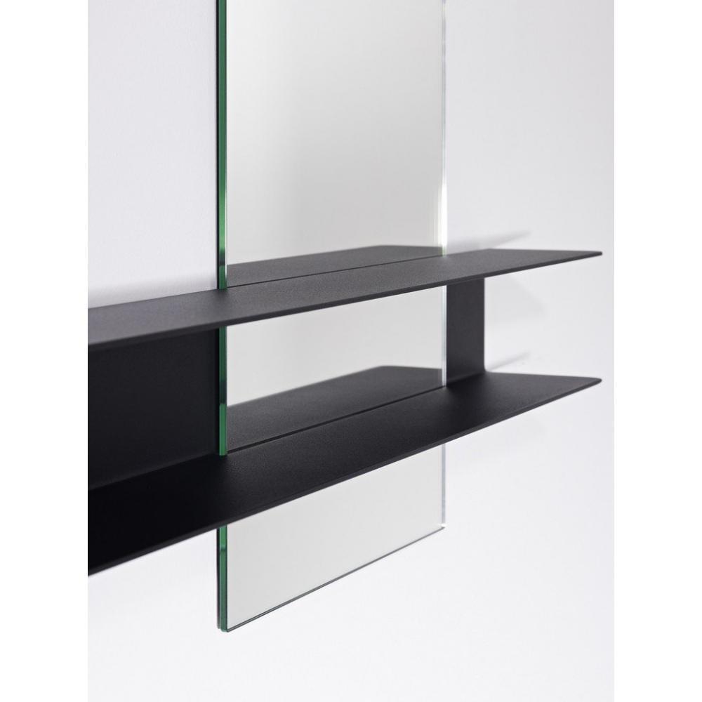 petits miroirs meubles et rangements poke miroir mural carr en verre avec pied design de. Black Bedroom Furniture Sets. Home Design Ideas