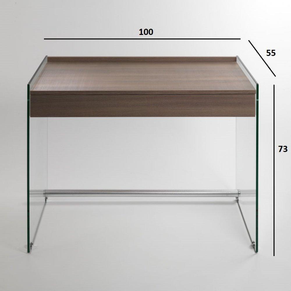 Bureaux meubles et rangements porte ordinateur tokio for Meuble porte ordinateur