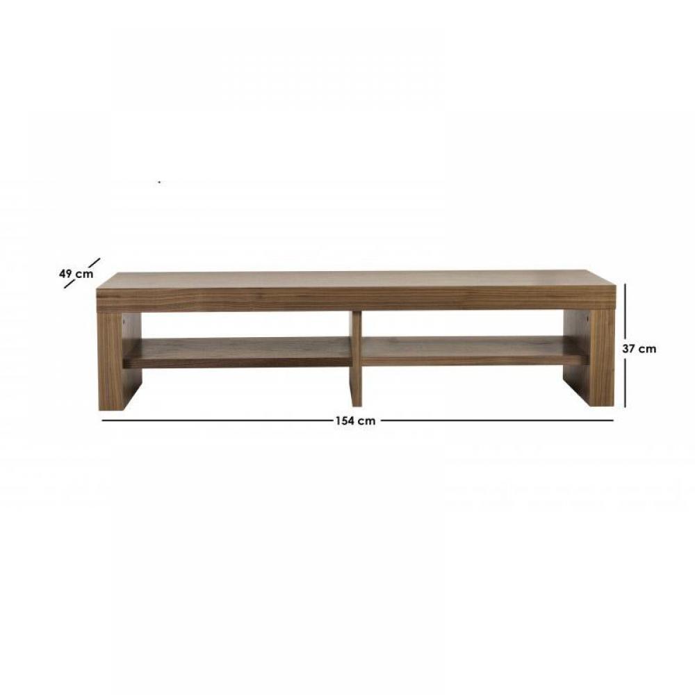 Meubles tv, meubles et rangements, TemaHome FUSION petit meuble tv finition n -> Meuble Tv Bois Noyer