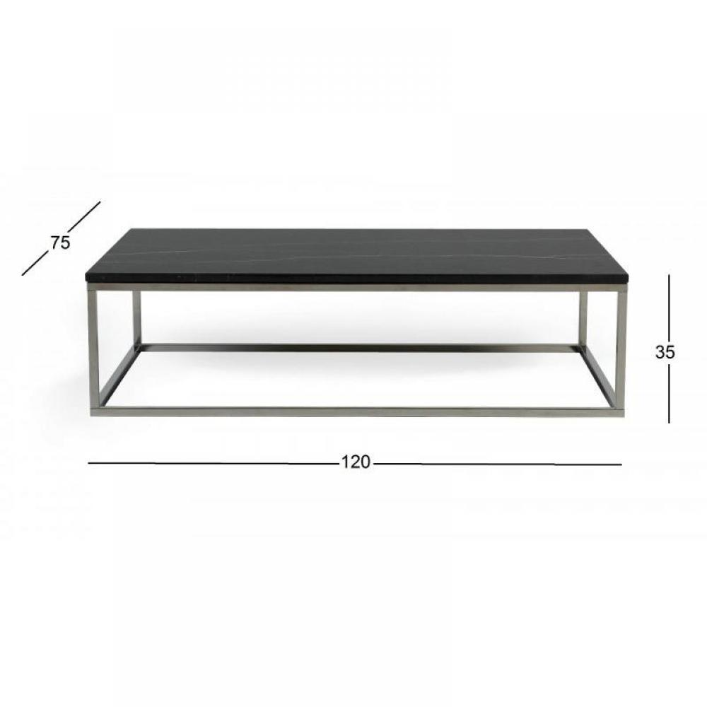 Tables basses tables et chaises temahome prairie table - Table basse metal noir ...