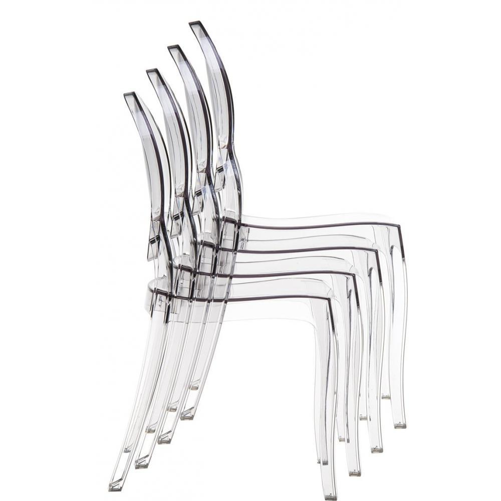 Table rabattable cuisine paris chaises plexi pas cher - Chaise plexiglass transparente ...