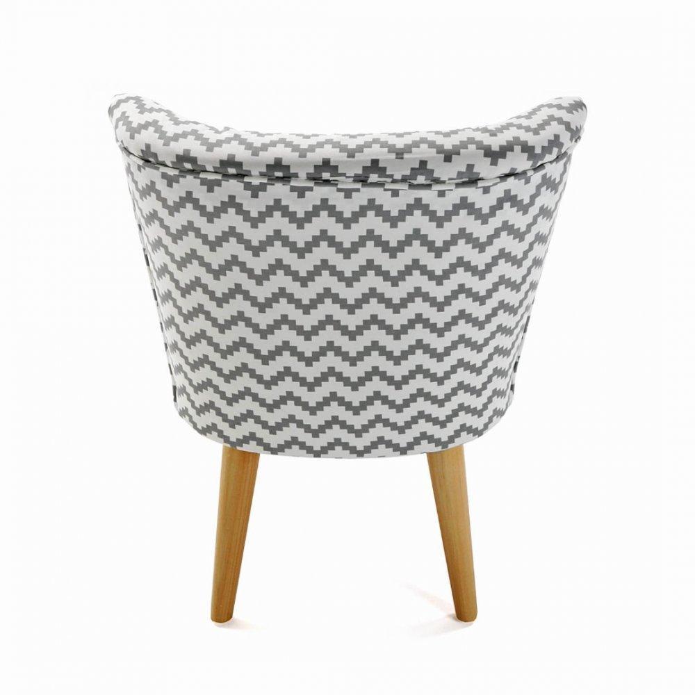 Chauffeuses fauteuils et poufs rhombuses fauteuil design - Fauteuil pied bois ...