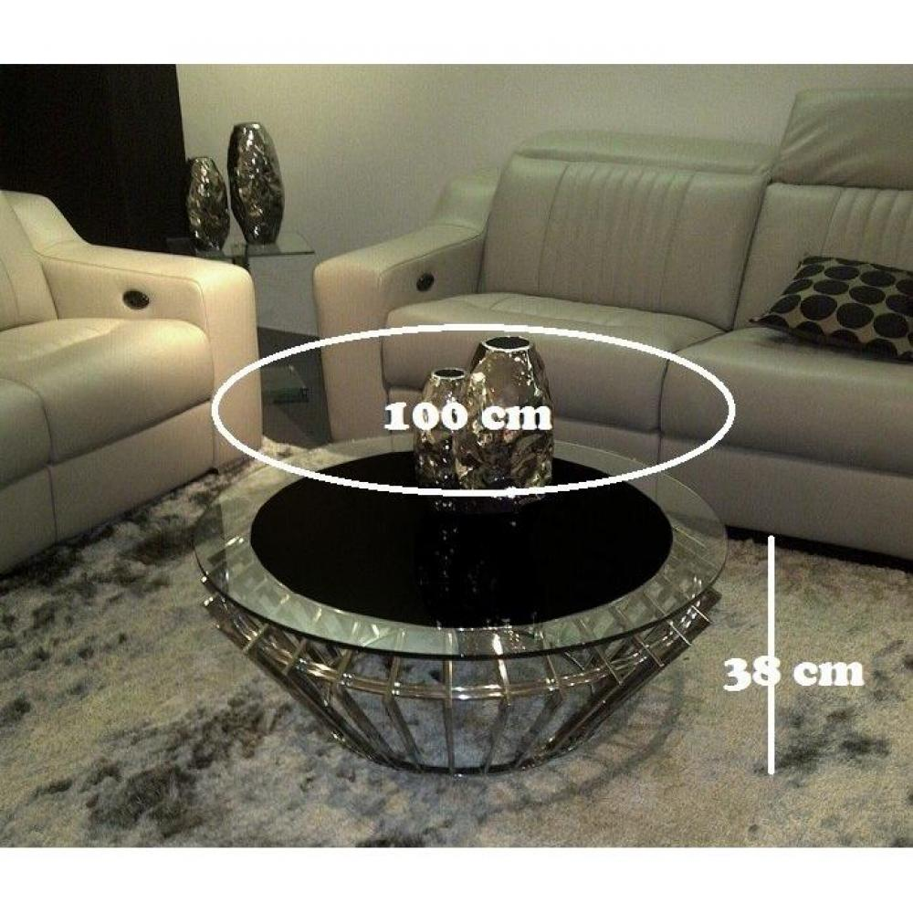 Tables basses meubles et rangements ruby coffee table - Table basse design ronde ...