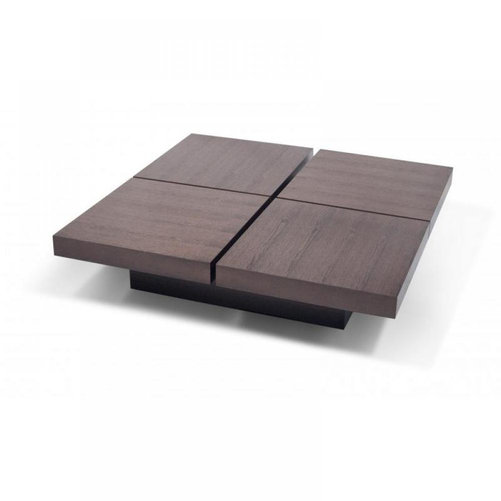 Tables basses tables et chaises temahome kyoto table for Table basse carree avec rangement