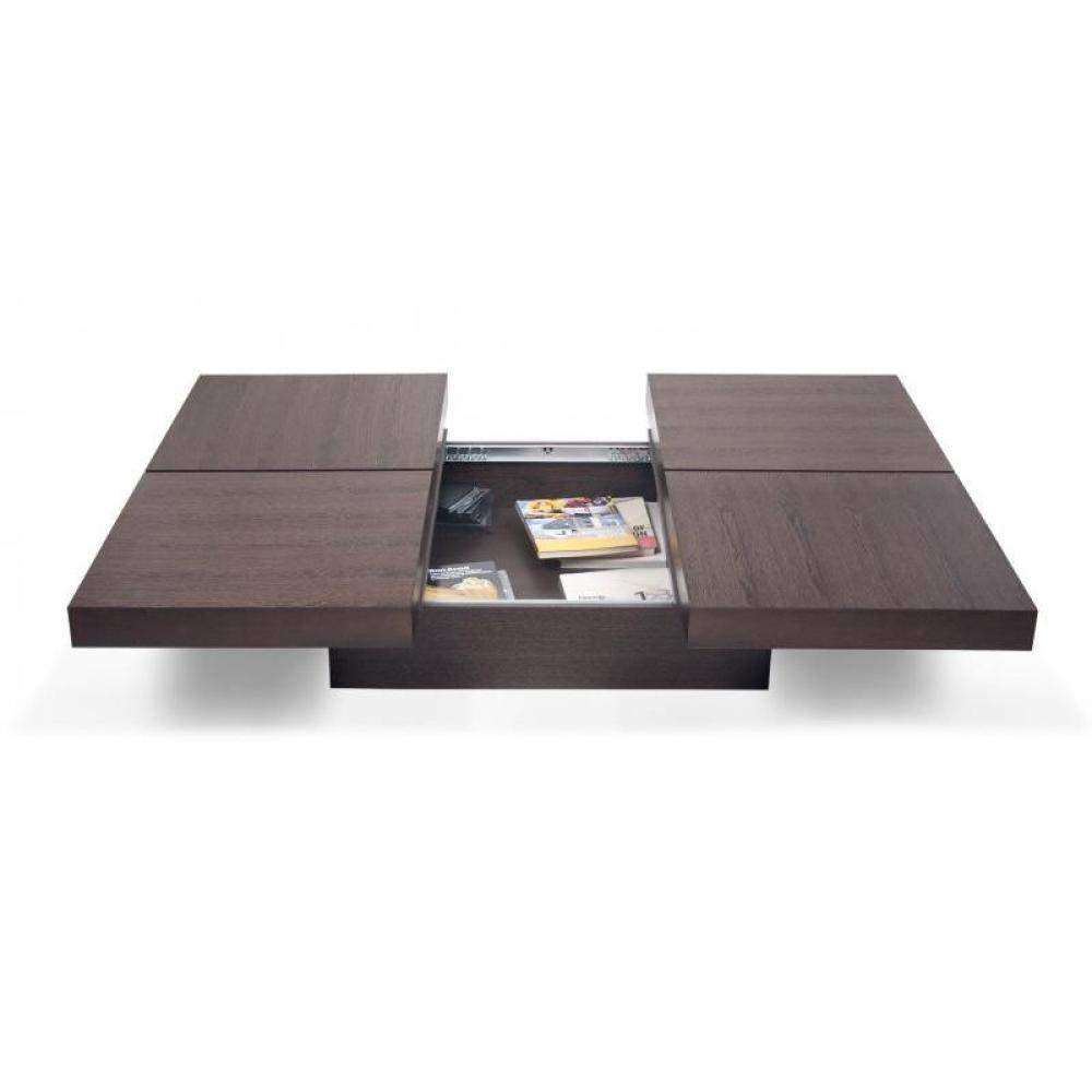 Tables basses meubles et rangements temahome kyoto table for Table basse coffre bois