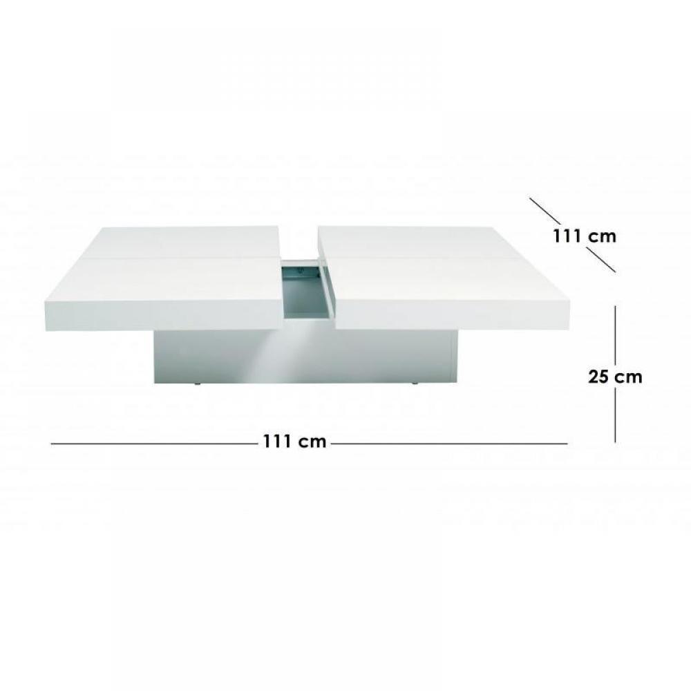 Tables basses meubles et rangements temahome kyoto table for Table basse design avec rangement