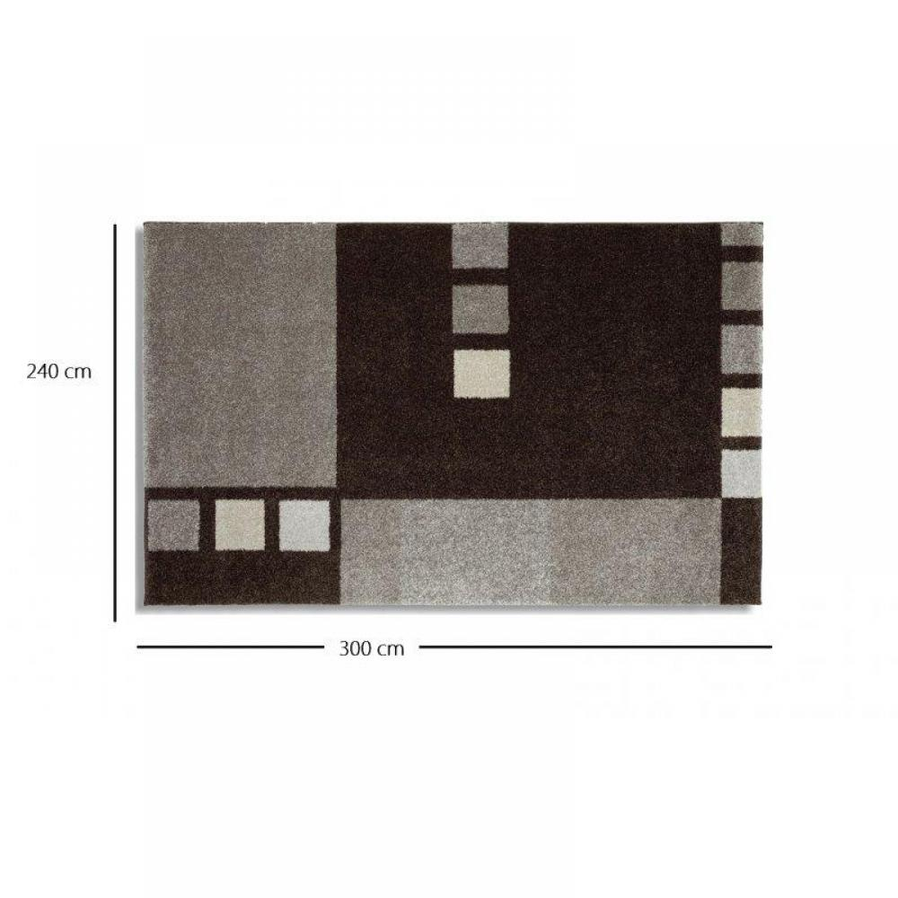 samoa design tapis patchwork gris 240x300 cm place du mariage. Black Bedroom Furniture Sets. Home Design Ideas