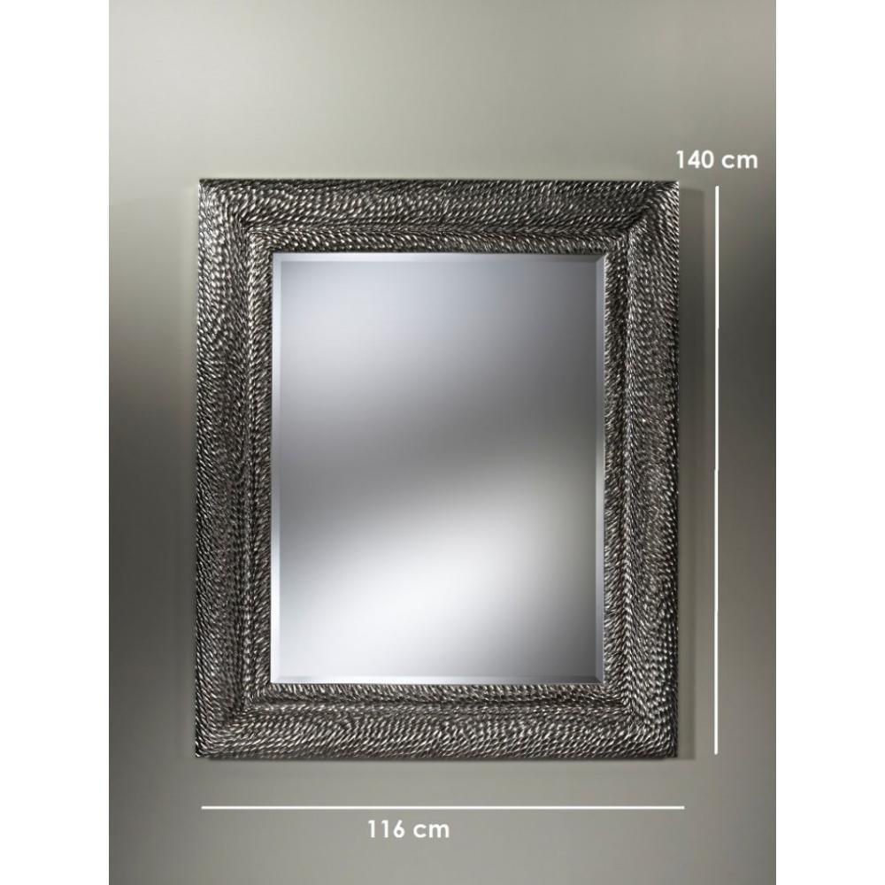 sherwood miroir mural design en verre argent place du mariage. Black Bedroom Furniture Sets. Home Design Ideas