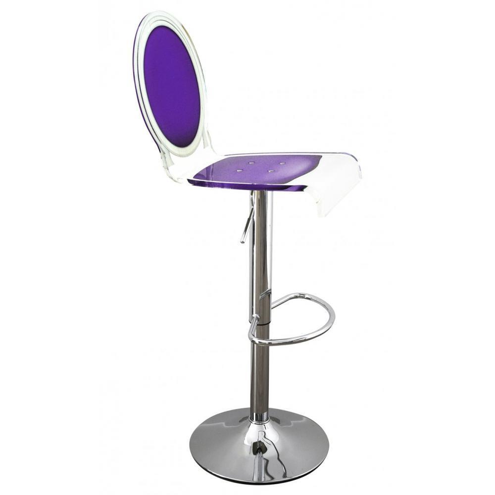 tabouret violet. Black Bedroom Furniture Sets. Home Design Ideas