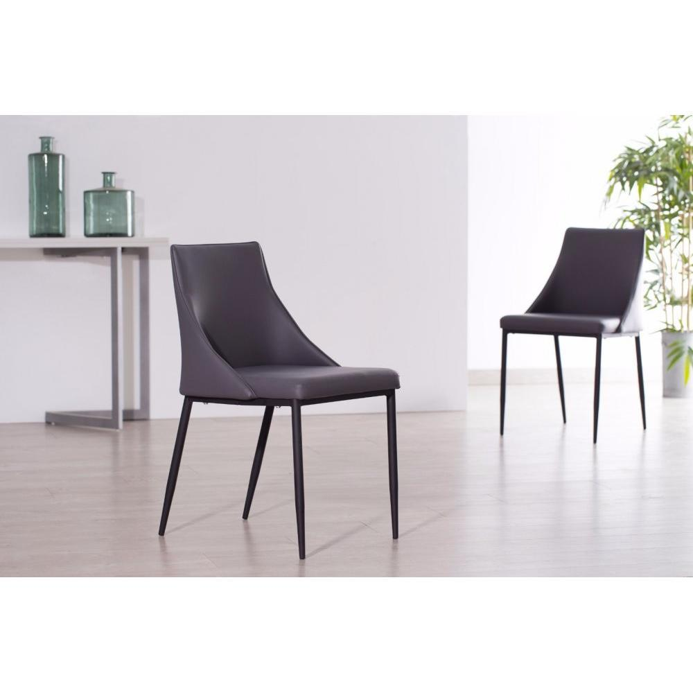 chaises tables et chaises chaise design call en tissu. Black Bedroom Furniture Sets. Home Design Ideas