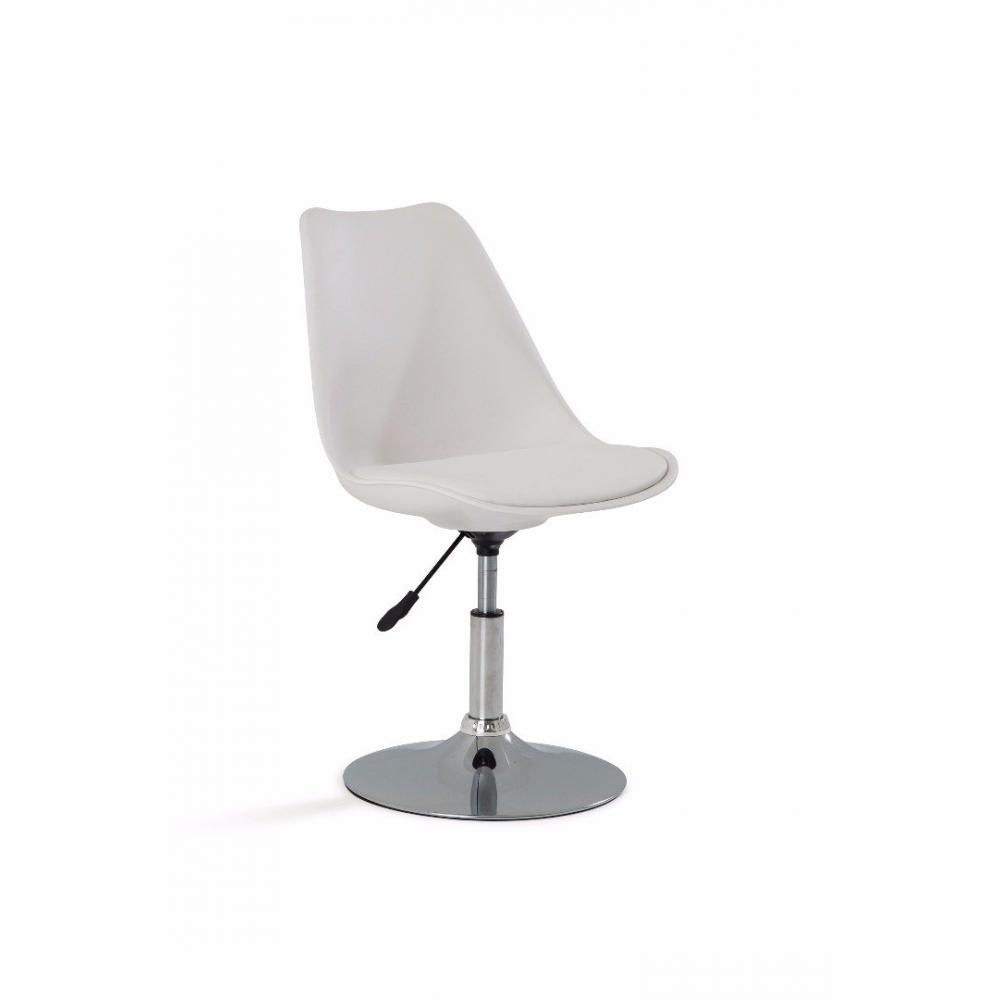 chaises de bureau meubles et rangements chaise de bureau reglable paris similicuir blanc. Black Bedroom Furniture Sets. Home Design Ideas