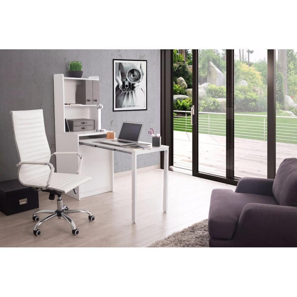consoles extensibles tables et chaises meuble kolto transformable en console extensible blanc. Black Bedroom Furniture Sets. Home Design Ideas