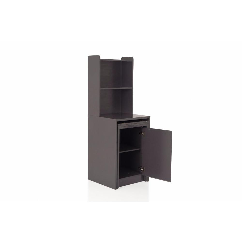 consoles extensibles tables et chaises meuble kolto transformable en console extensible gris. Black Bedroom Furniture Sets. Home Design Ideas