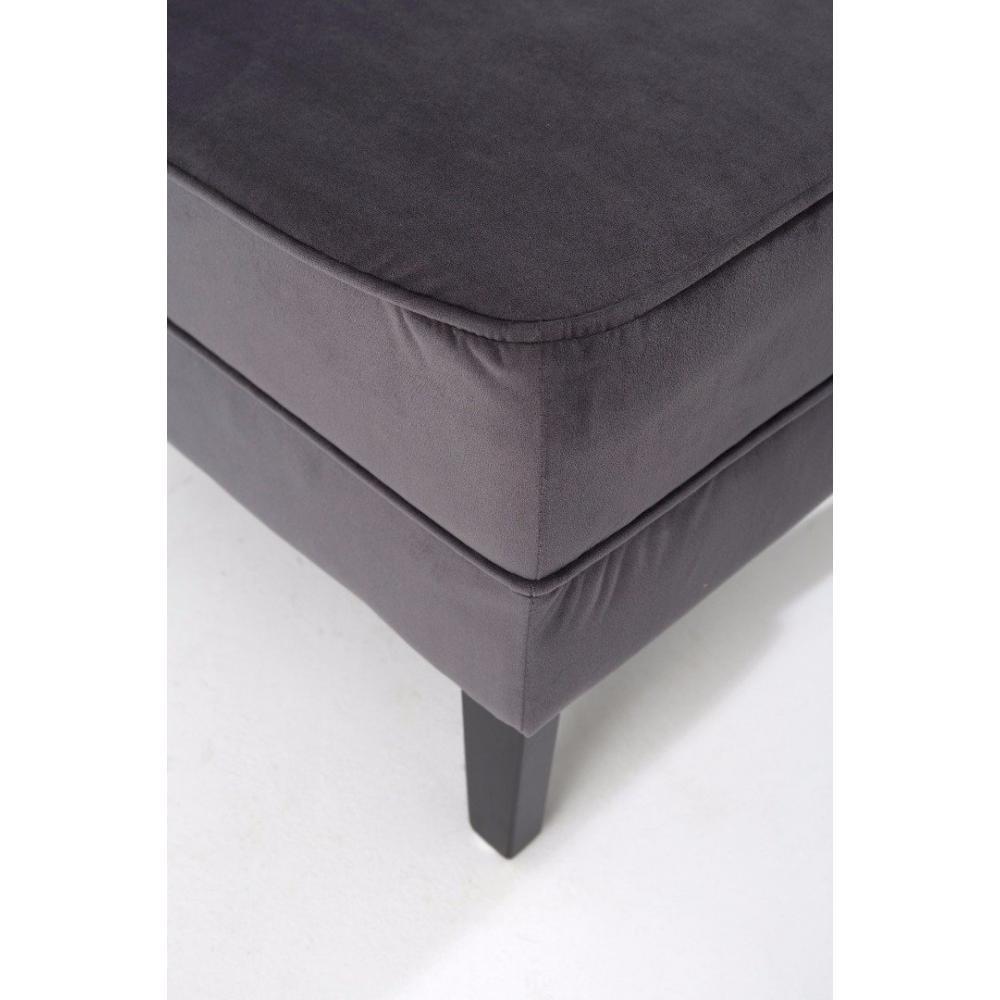 chauffeuses fauteuils et poufs petit fauteuil lounge tissu gris inside75. Black Bedroom Furniture Sets. Home Design Ideas