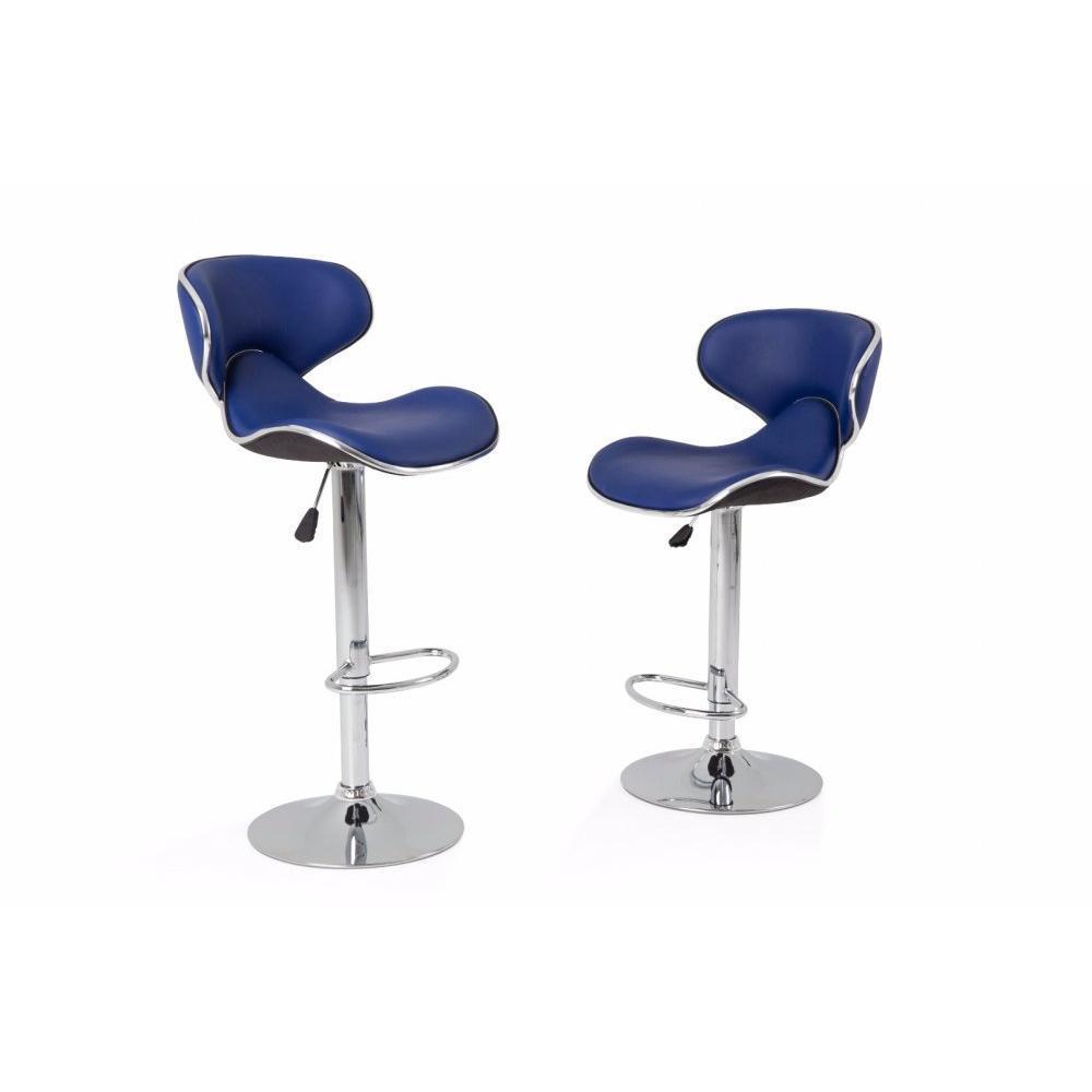 tabourets de bar tables et chaises lot de 2 tabourets de bar nantes en tissu enduit. Black Bedroom Furniture Sets. Home Design Ideas