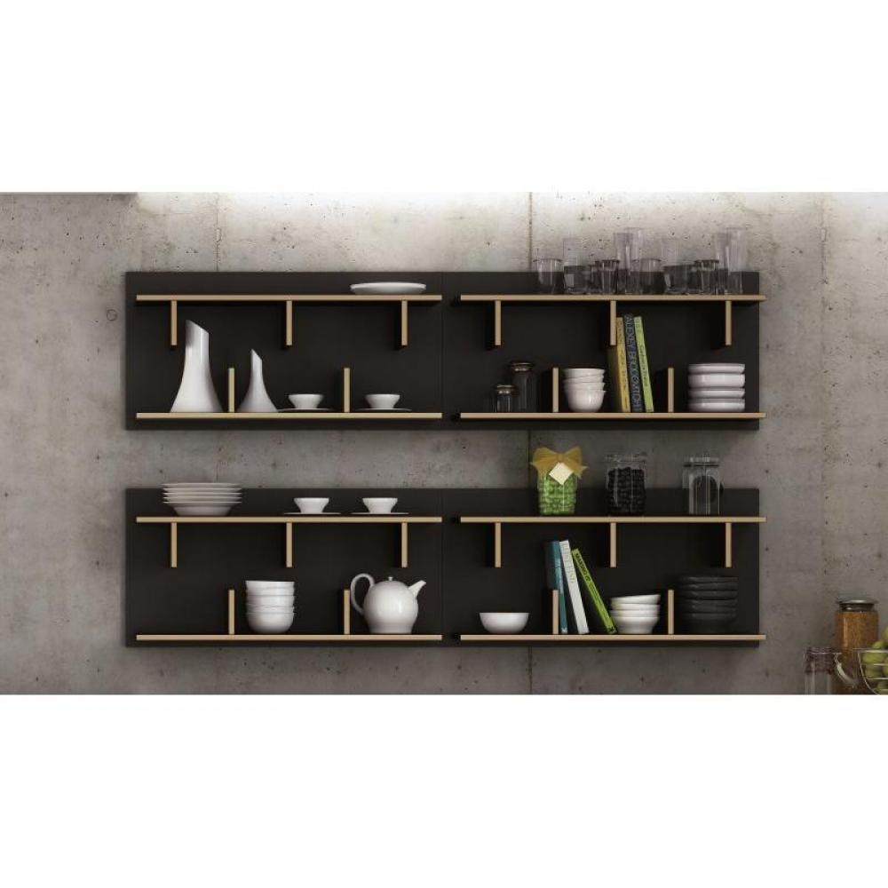 rapido convertibles canap s syst me rapido temahome bern bibliotheque etagere murale bois. Black Bedroom Furniture Sets. Home Design Ideas