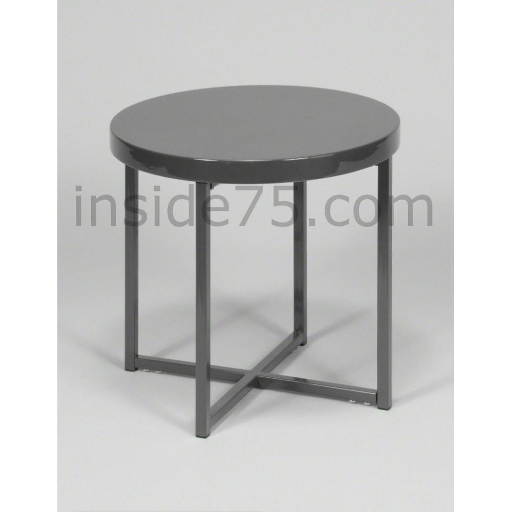 Tables basses meubles et rangements table design d - Table design grise ...