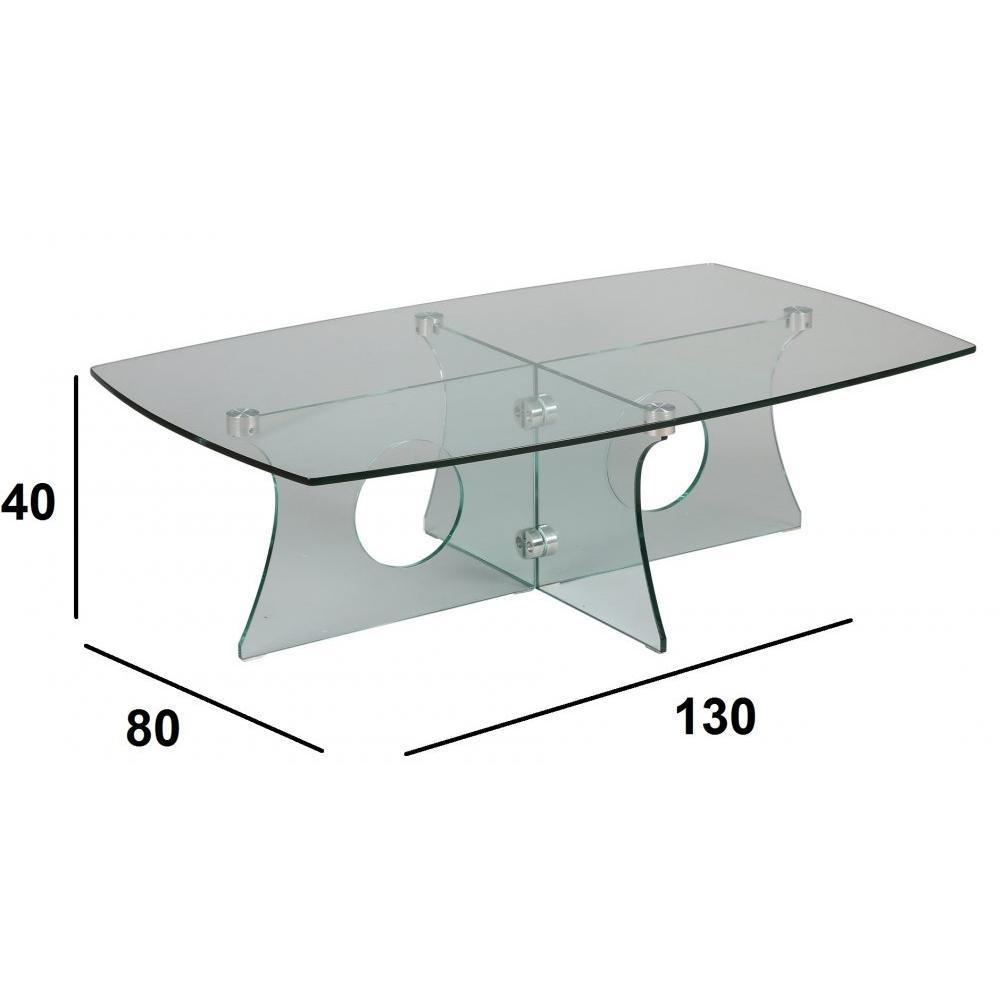 Tables basses tables et chaises table basse amethyste en - Table basse tout en verre ...