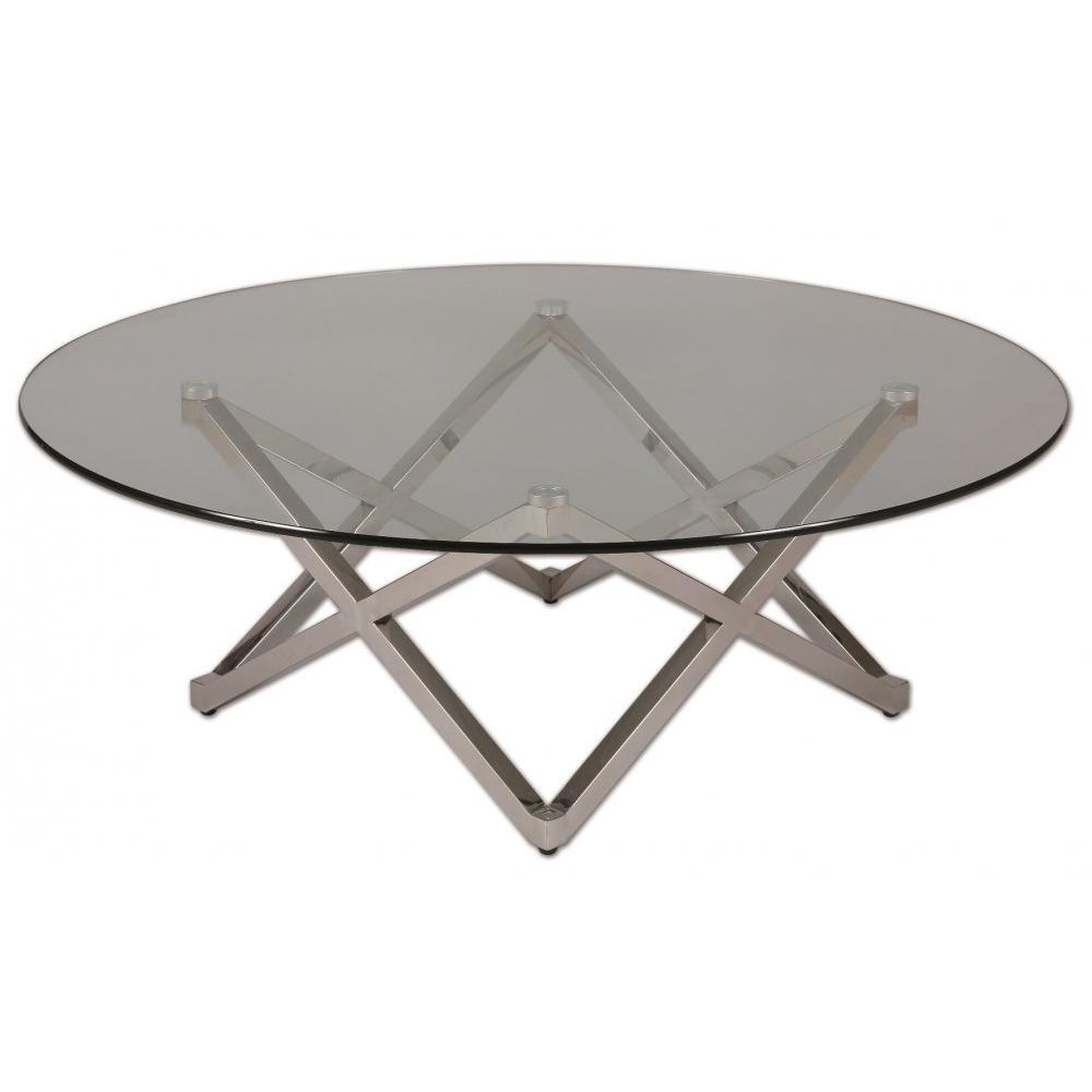 Tables basses tables et chaises table basse beryl en for Verre pour table basse
