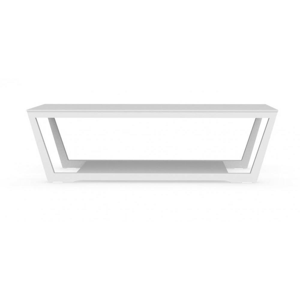 tables basses tables et chaises calligaris table basse element en verre blanc inside75. Black Bedroom Furniture Sets. Home Design Ideas