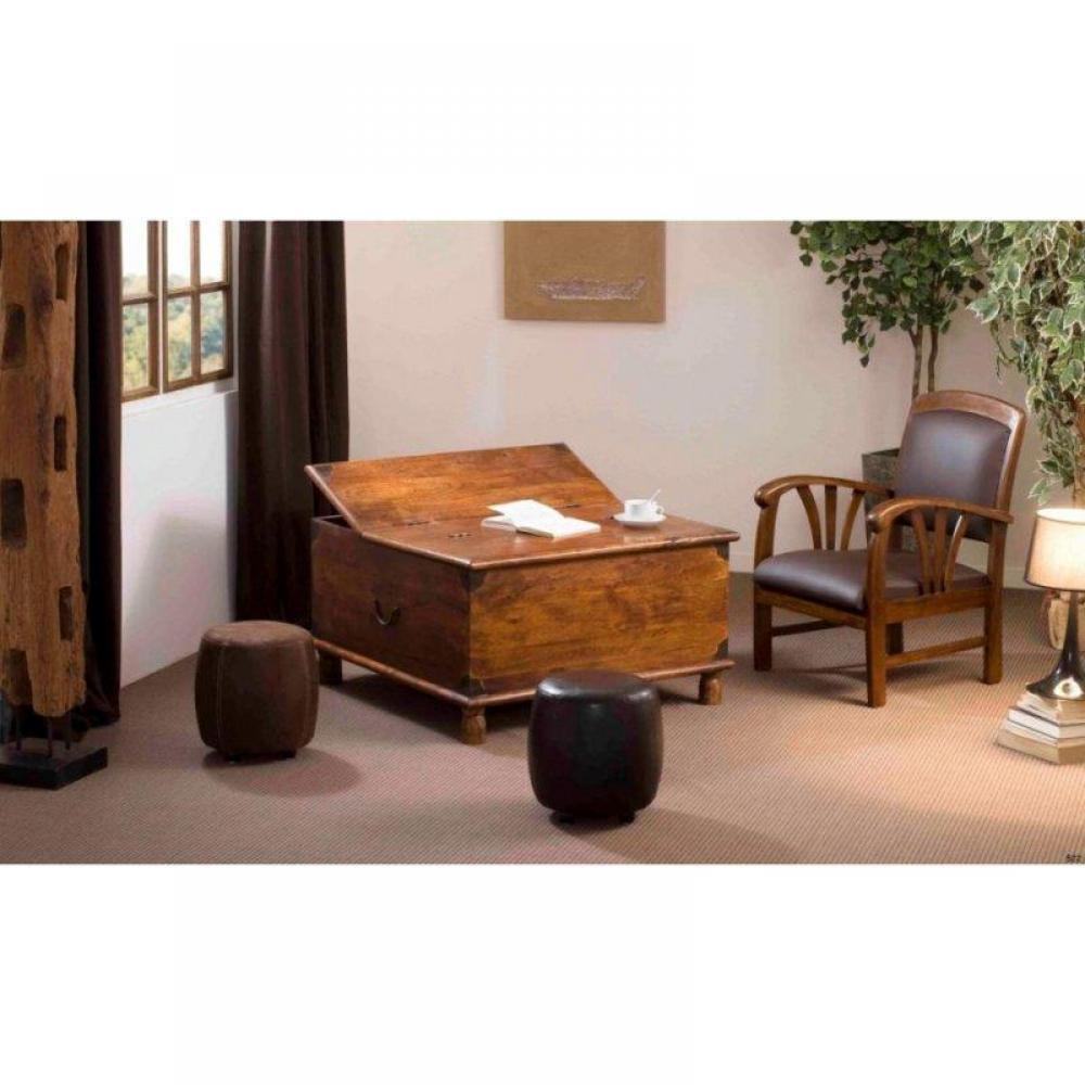 Tables basses tables et chaises table basse coffre adam - Table basse en acacia ...