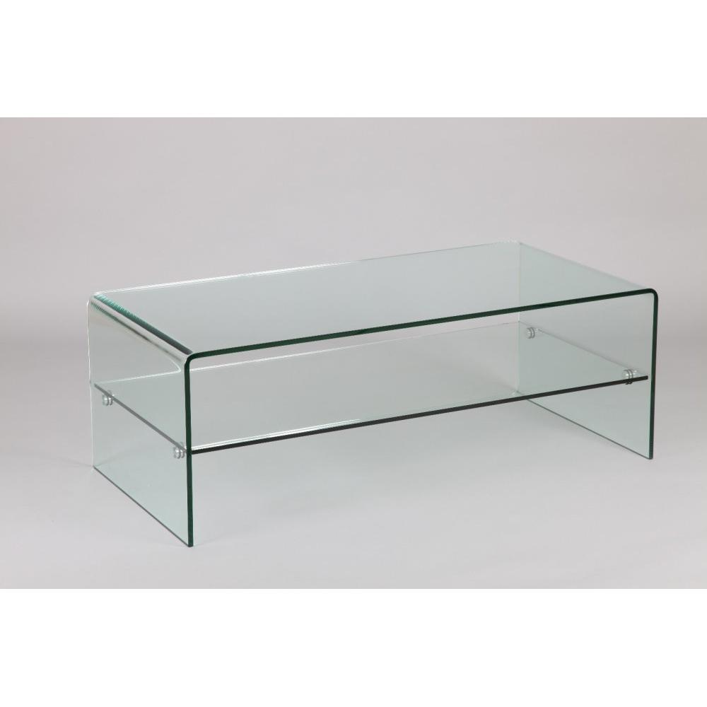 Tables basses tables et chaises table basse cristallisa en verre inside75 - Tables basses en verre ...