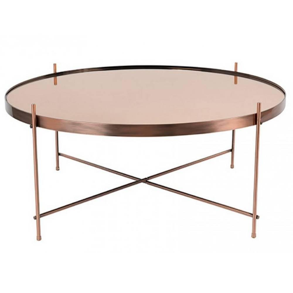 Tables basses tables et chaises zuiver table basse cupid for Miroir zuiver