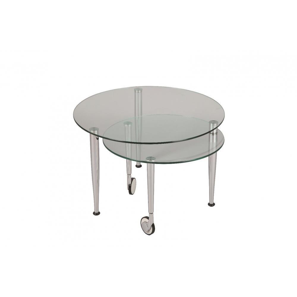 tables gigognes tables et chaises table basse eight en verre transparent inside75. Black Bedroom Furniture Sets. Home Design Ideas