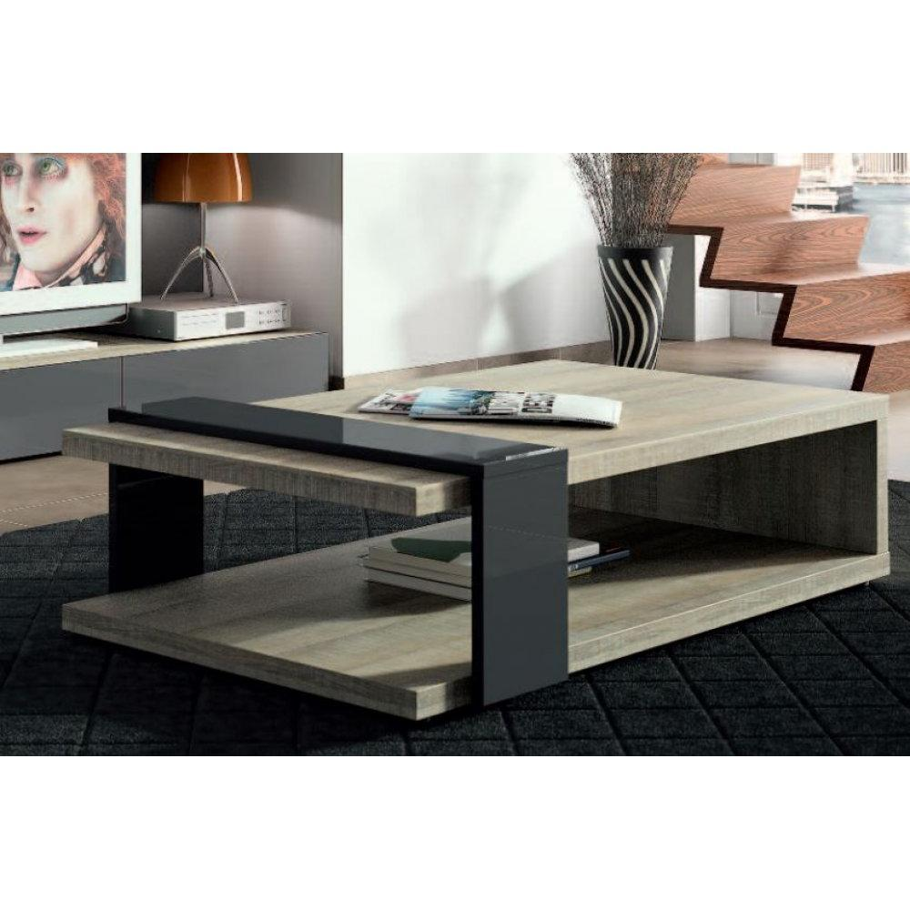 table basse bois gris taupe. Black Bedroom Furniture Sets. Home Design Ideas
