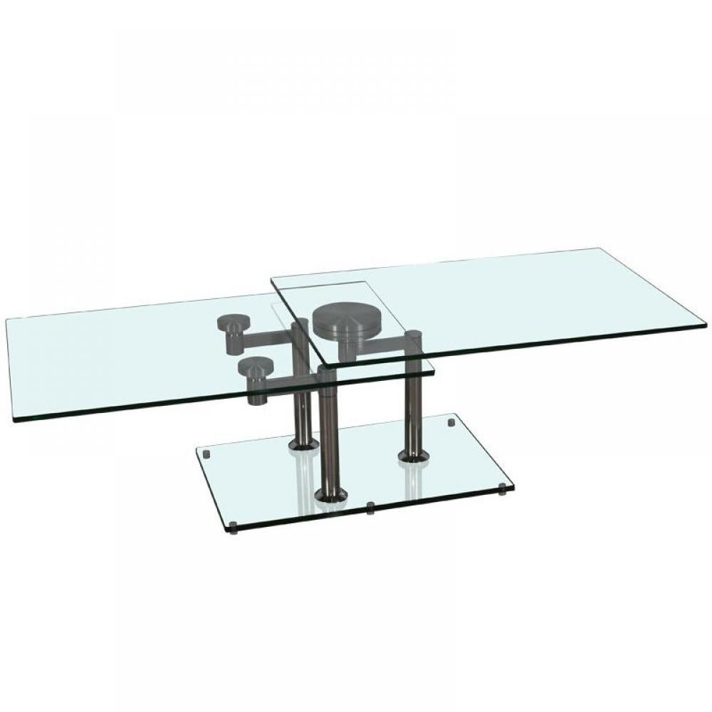 Table Basse Design Verre Linea Maison Design