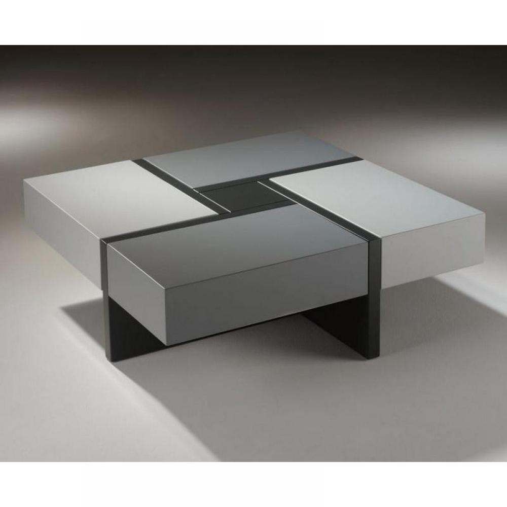 Tables basses tables et chaises table basse design molly - Table basse design blanc ...