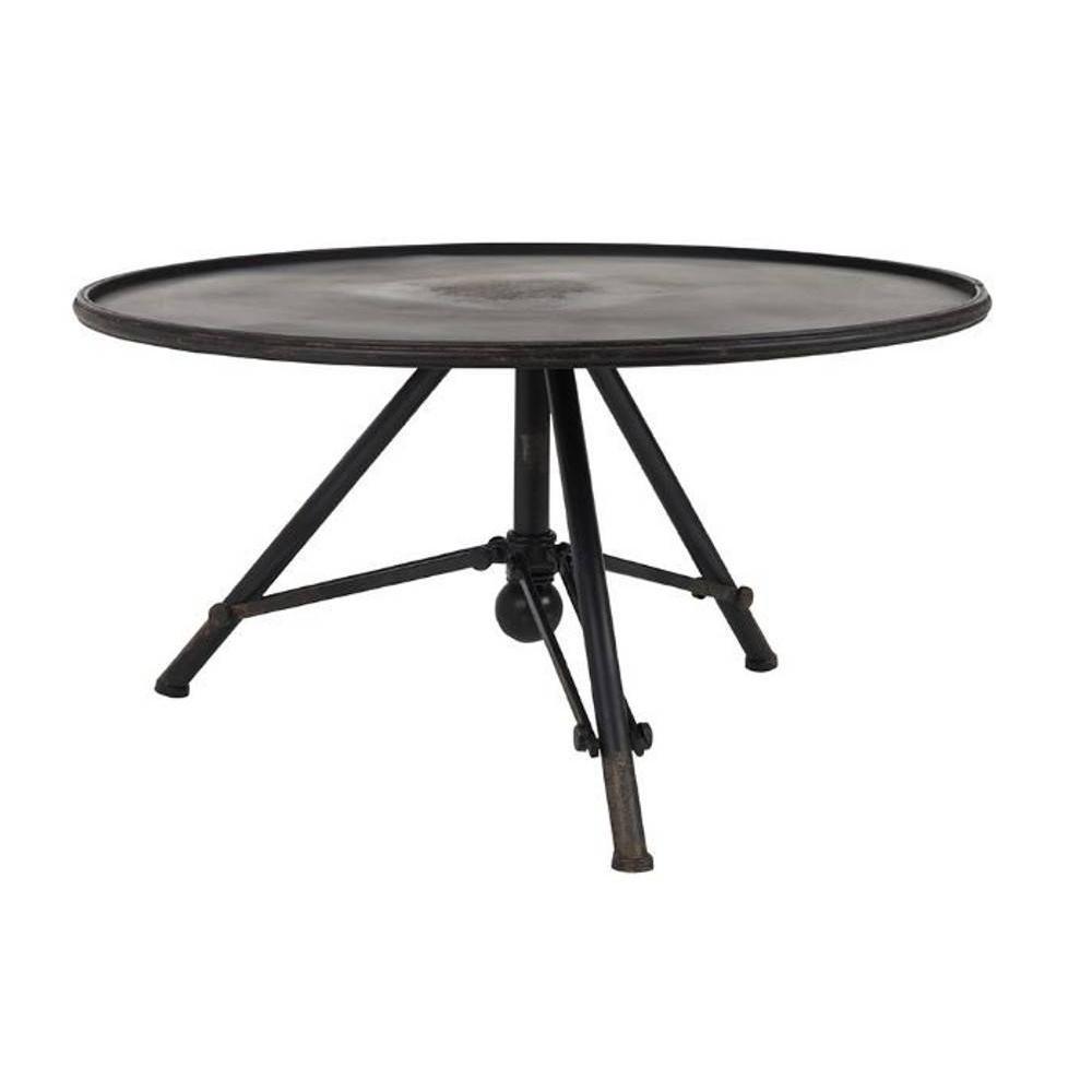 Tables Basses Tables Et Chaises Table Basse Brok De Dutchbone En M Tal 78 X 40 Cm Inside75