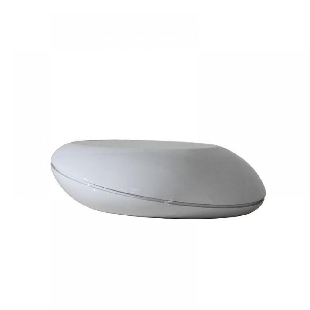 Table basse gris clair a led ultra design - Table basse a led ...