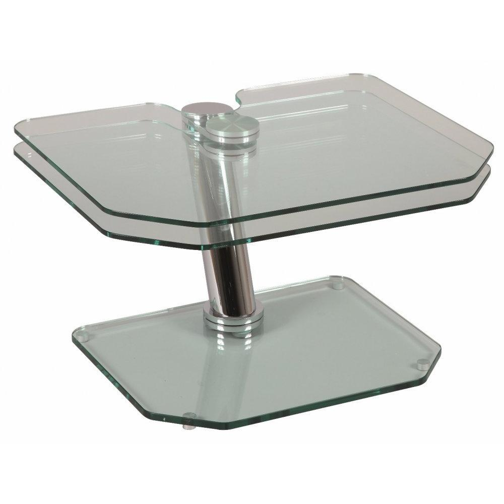 Table Basse 3 Plateaux Fly : Tables basses et chaises table basse fly double