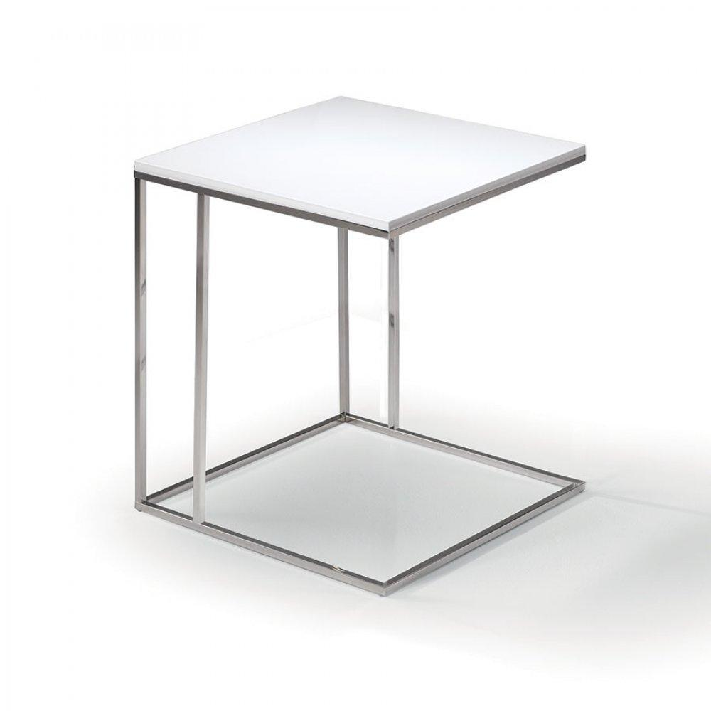 Bouts de canapes tables et chaises lamina bout de canap for Bout de canape laque blanc