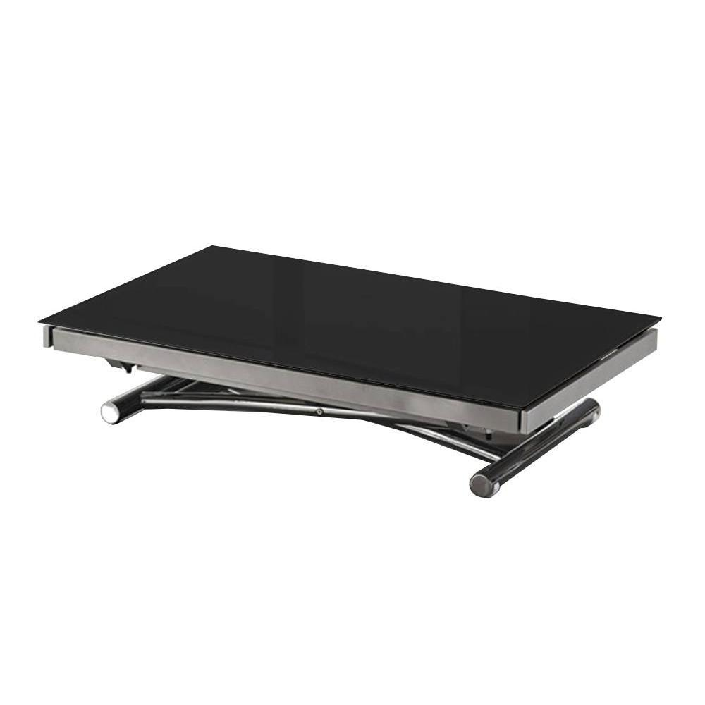 Tables relevables tables et chaises table basse jump for Table basse relevable noir