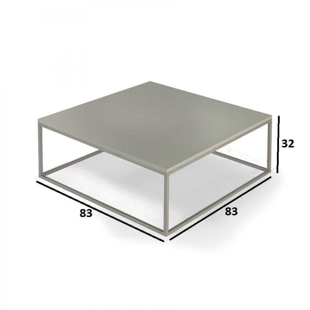 Tables basses tables et chaises table basse carr e mimi - Table basse carree design ...