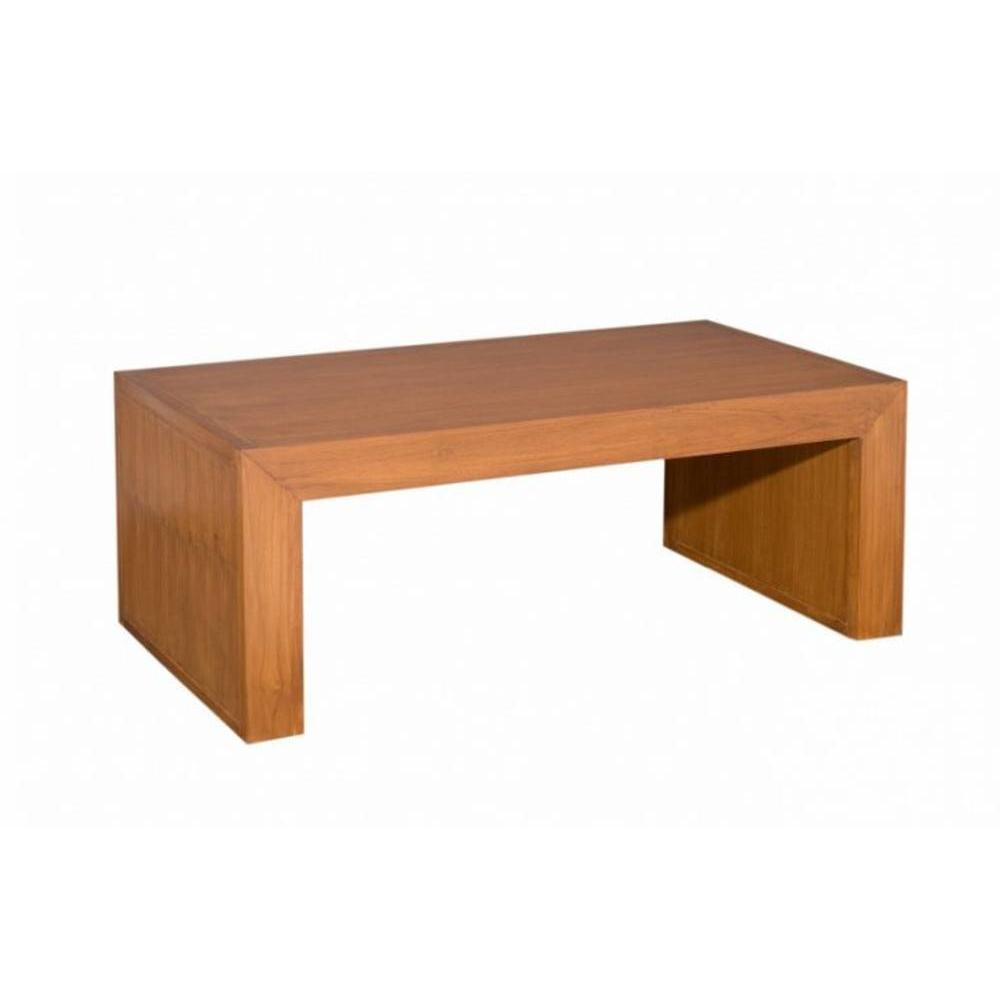 Tables basses tables et chaises table basse moderne for Table basse bois teck