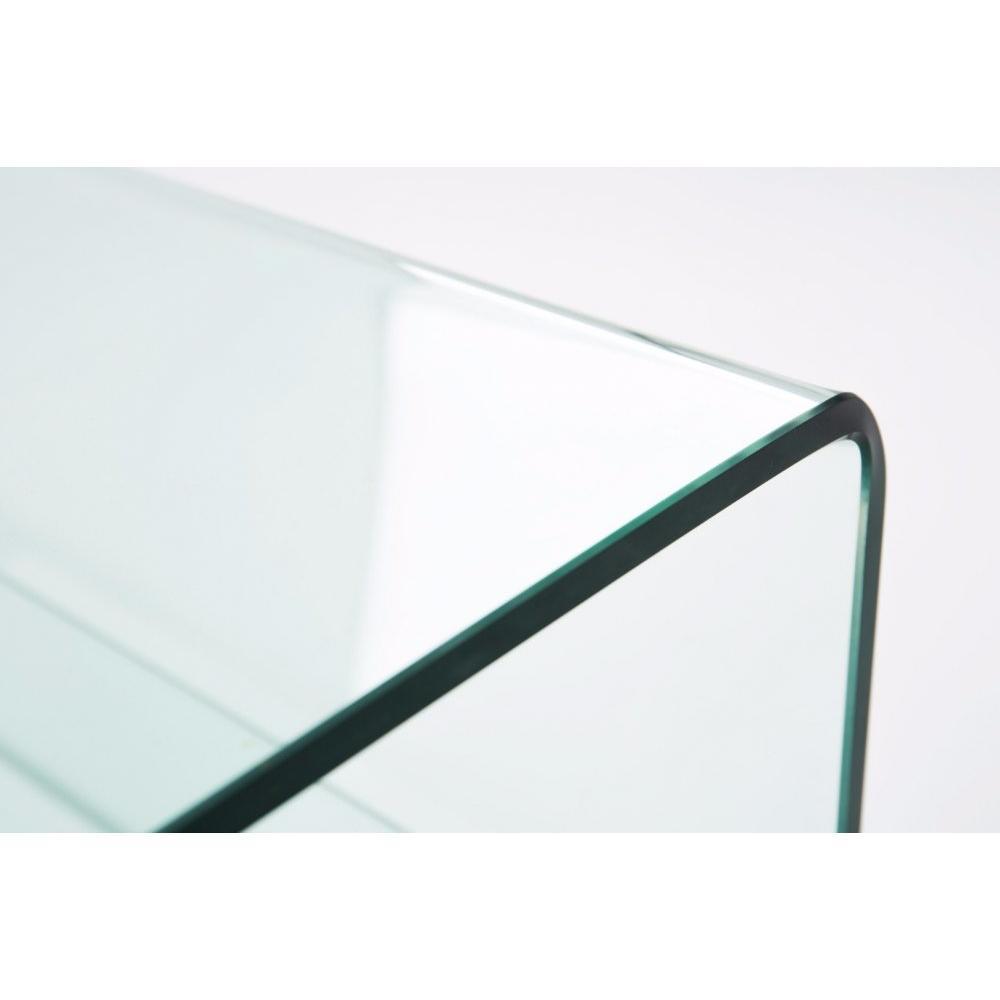Tables basses tables et chaises table basse neil 2 plateaux en verre insi - Table basse en verre 2 plateaux ...