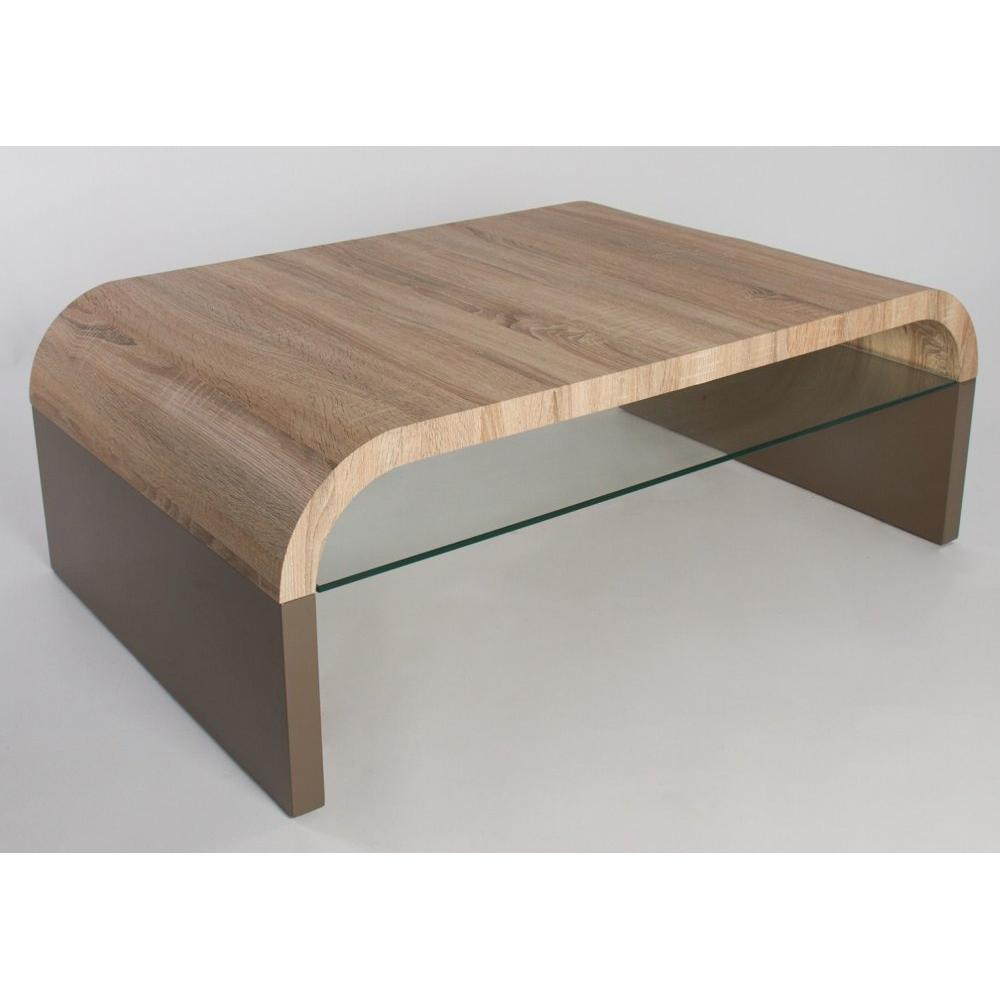 Tables basses tables et chaises table basse design omaha - Table basse chene clair ...