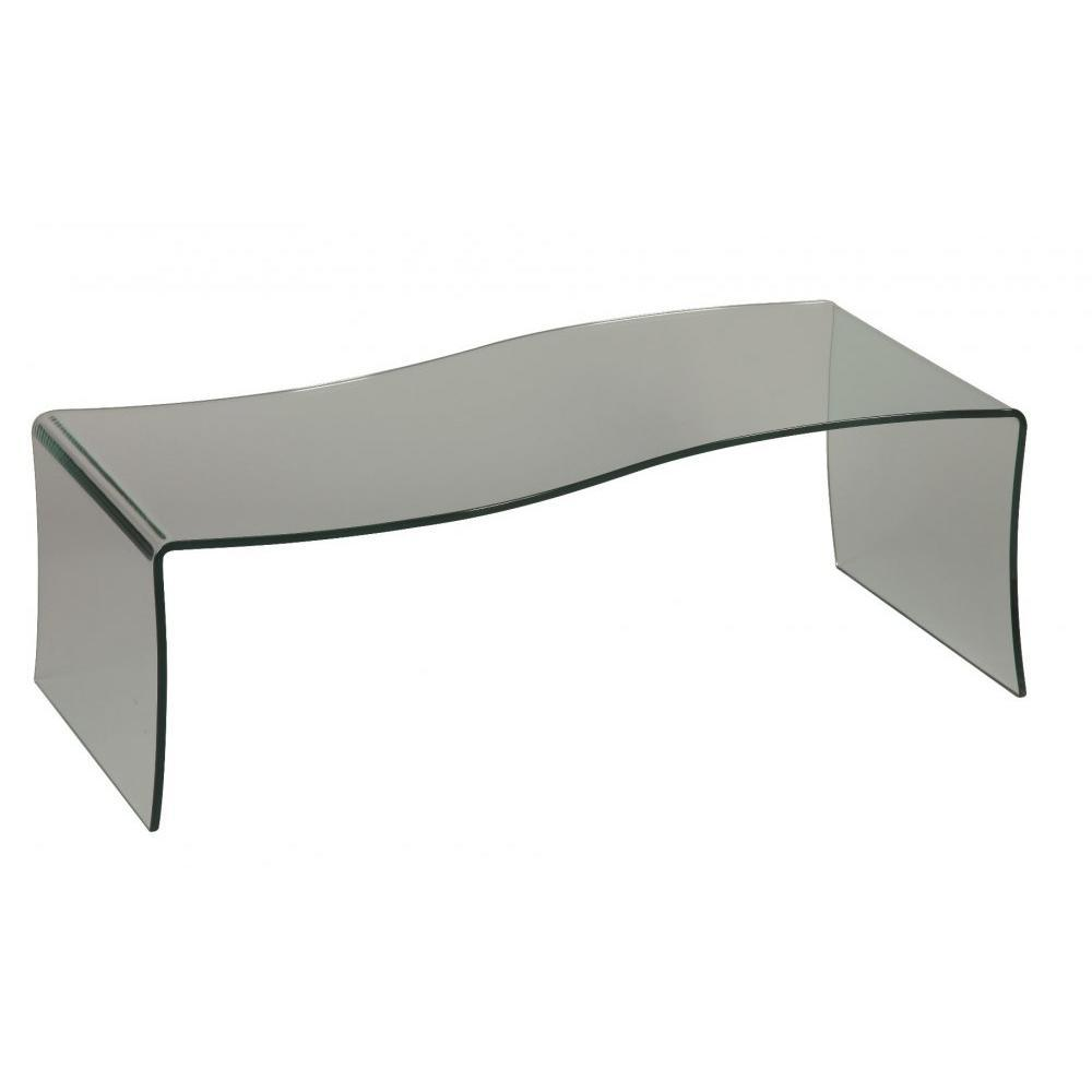 Tables basses tables et chaises table basse opale en - Tables basses en verre ...