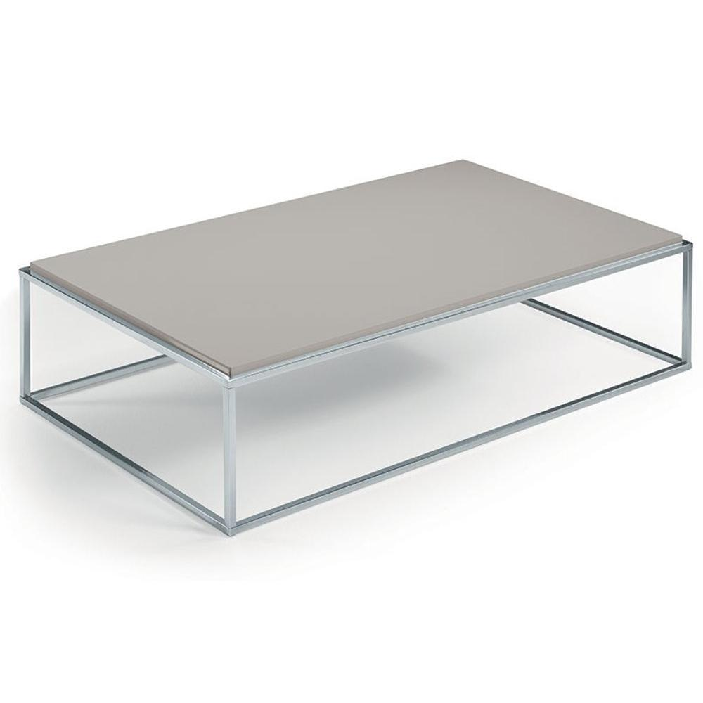 Tables basses tables et chaises table basse mimi - Table basse taupe laque ...