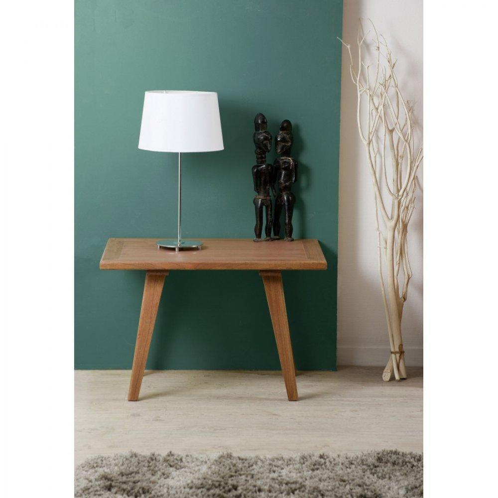 Table basse en bois style scandinave - Table basse style indonesien ...