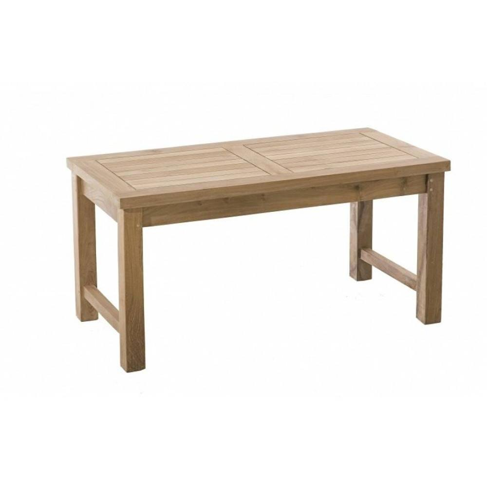 Tables basses de jardin tables et chaises table basse de for Table basse rectangulaire bois