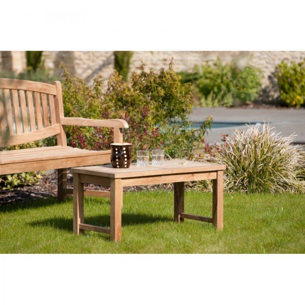tables basses de jardin tables et chaises table basse de jardin rectangulaire 90 45 cm fun en. Black Bedroom Furniture Sets. Home Design Ideas
