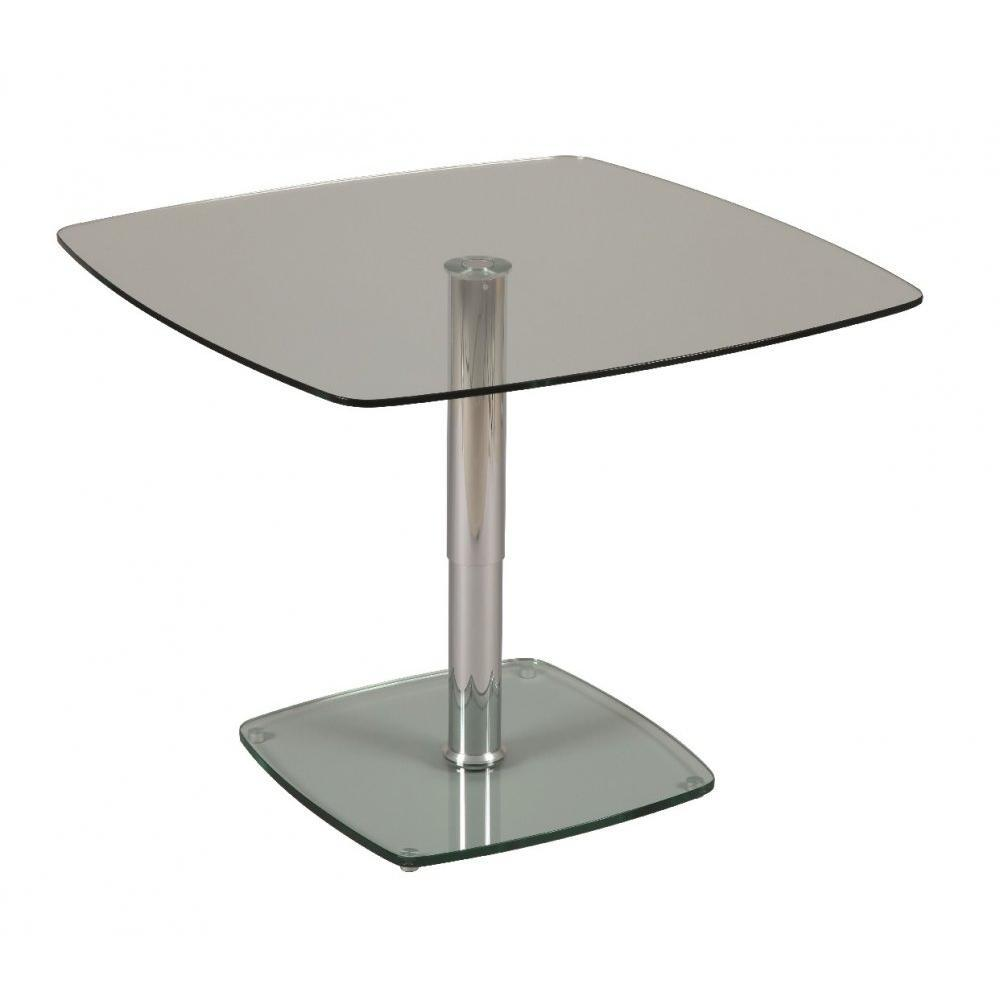 Tables relevables table basse relevable molly en verre inside75 - Table basse reglable ...