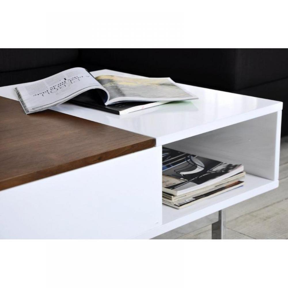 Table basse avec coffre rangement for Table basse avec coffre
