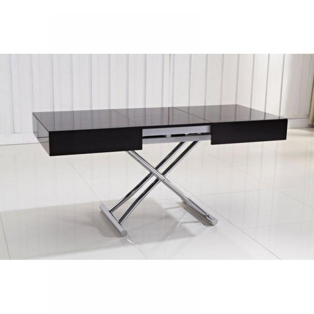 Tables relevables tables et chaises table basse for Table basse relevable solde