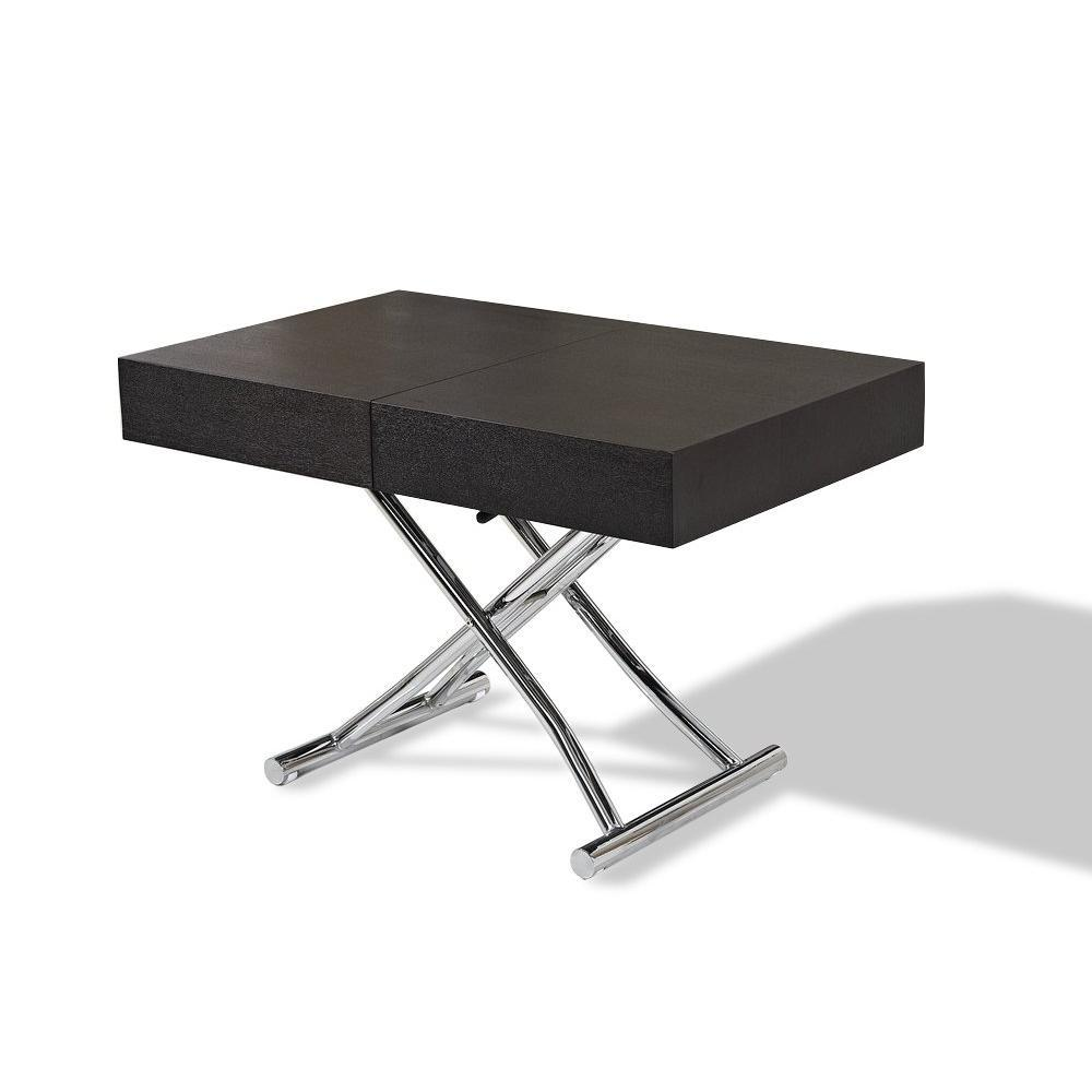 Latest table basse blanc et grise pas cher dtails sur - Table basse relevable extensible conforama ...
