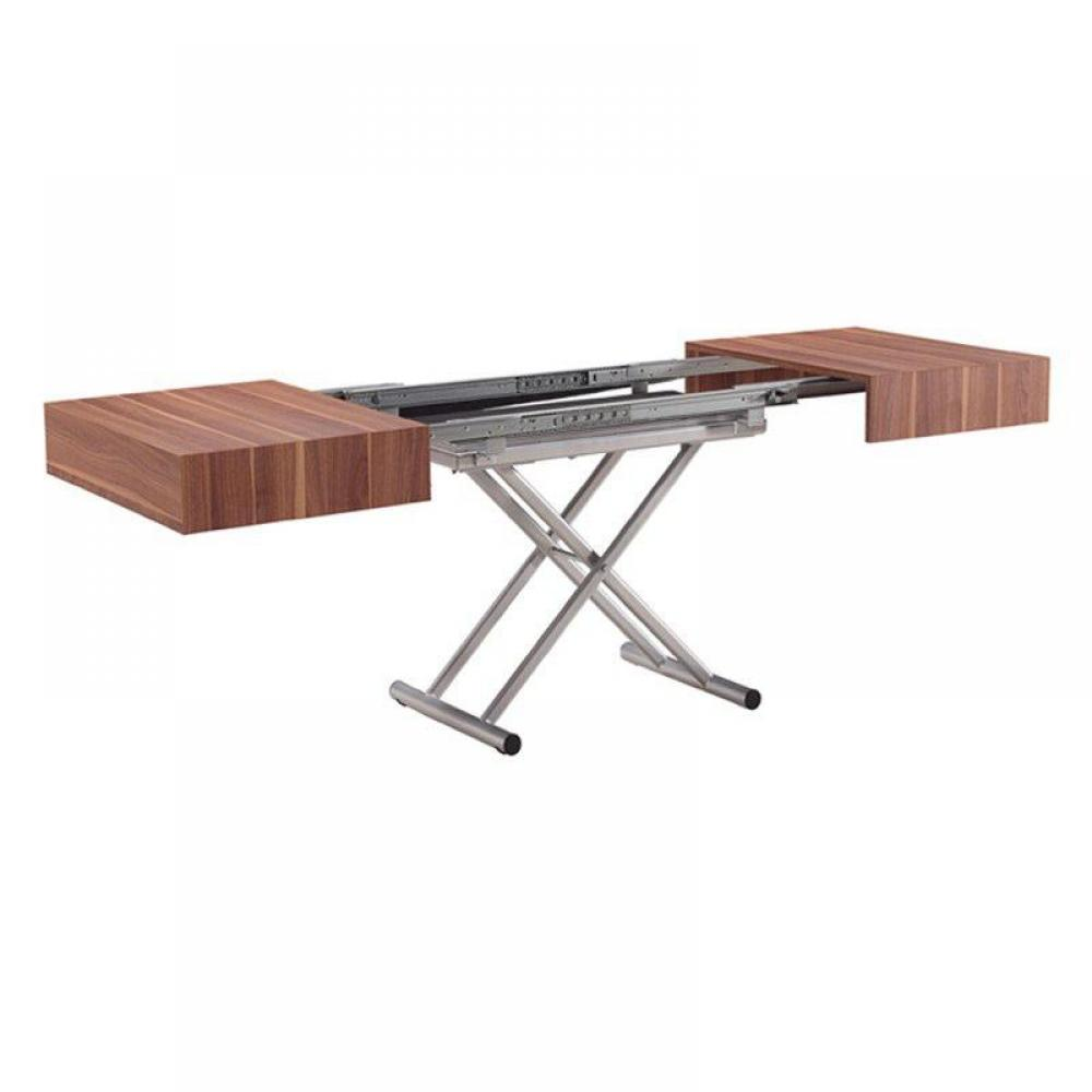 Table basse pliante plateau for Table basse plateau relevable fly